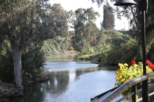 Jordan River downstream from Baptism location.