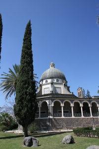 Church on the Mount of Beatitudes.