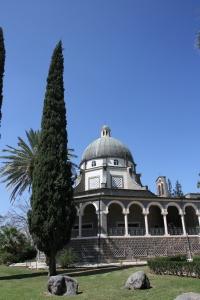 Church on the Mount of Beatitudes.