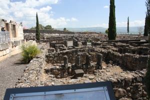 Ruins in Capharnaum.
