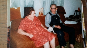 Aunt Fay and Uncle Roy.  Fay was Grandpa Pickler's little sister.