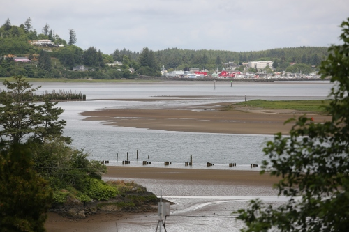 Ilwaco, Washington viewed from Cape Disappointment.