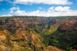 Waimea Canyon which is often referred to as the Grand Canyon of the Pacific.