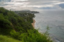 View of Black Point and Maunalua Bay.