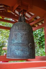 "The ""door-bell"" of the temple."
