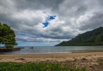 Kahana Bay and Beach Park.
